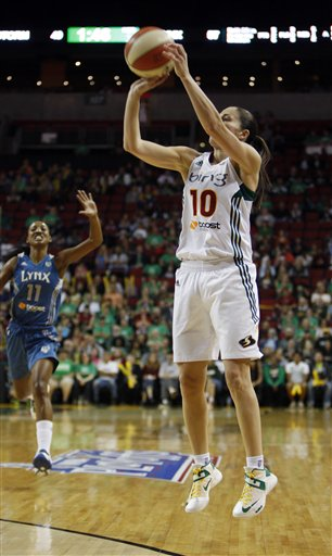 Sue Bird, Candice Wiggins