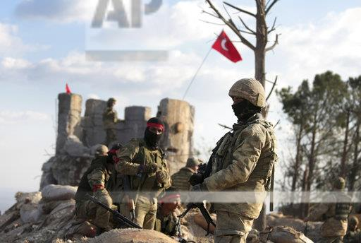 Syria Fight For Afrin