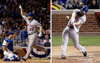 Mets Daniel Murphy Home Runs Baseball