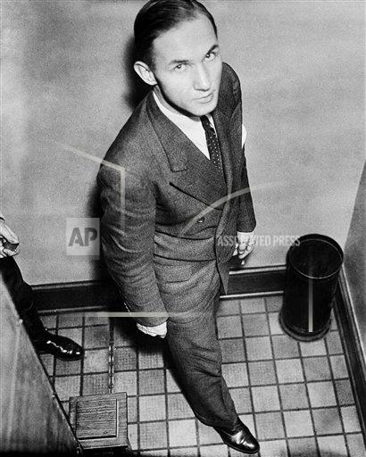 Watchf AP A  NJ USA APHS254081 Lindbergh Kidnapping and Trial