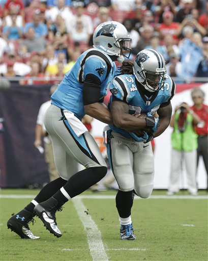 Cam Newton, DeAngelo Williams