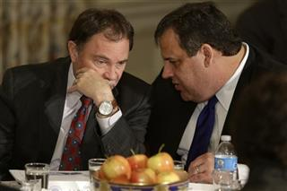 Chris Christie, Gary Herbert