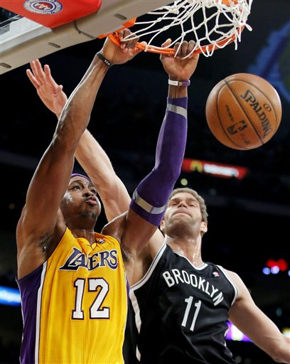 Brook Lopez, Dwight Howard