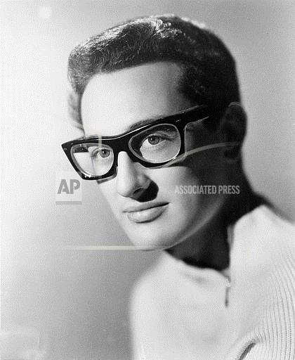 Associated Press Domestic News United States Entertainment, celebrities BUDDY HOLLY