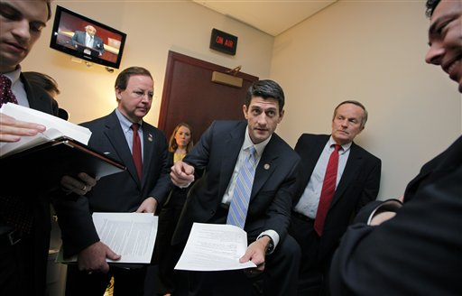 Paul Ryan, Todd Akin, Bill Flores