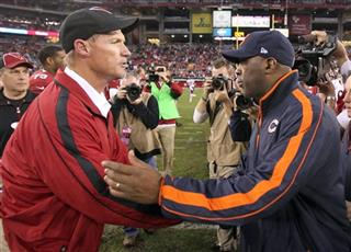 Ken Whisenhunt, Lovie Smith