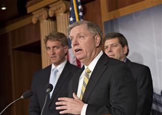 Mark Begich Jeff Flake, Lindsey Graham