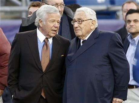 Henry Kissinger, Robert Kraft
