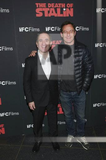 """NY Premiere of """"The Death of Stalin"""""""