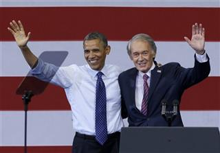 Barack Obama, Edward Markey