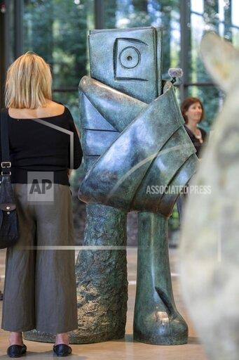Exhibition of sculptural works by the artist Miro