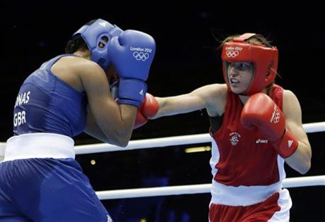 Natasha Jonas, Katie Taylor