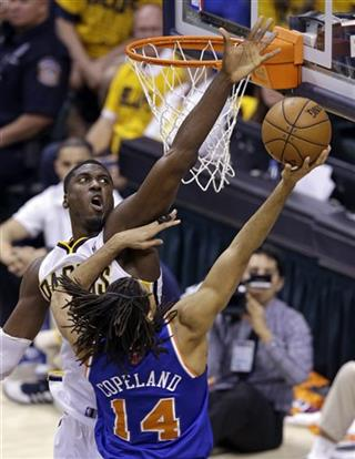 Chris Copeland, Roy Hibbert