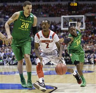 Russ Smith, Waverly Austin, Johnathan Loyd