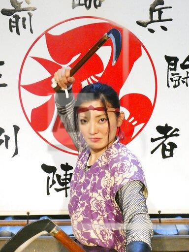 Ninja performer in Iga, Japan
