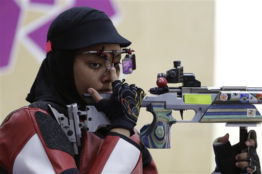 London Olympics Shooting Women