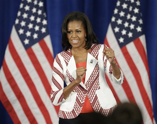 London Olympics Michelle Obama