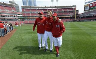 Mat Latos, Bronson Arroyo, Mike Leake