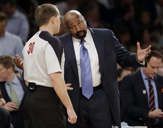John Goble, Mike Woodson