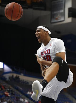 APTOPIX AAC Cincinnati SMU Basketball