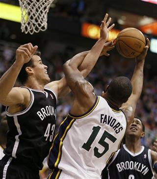 Derrick Favors; Kris Humphries