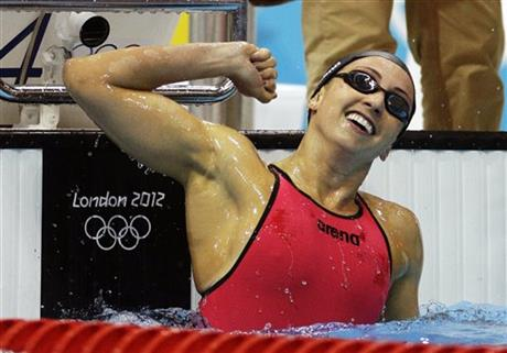 APTOPIX London Olympics Swimming Women