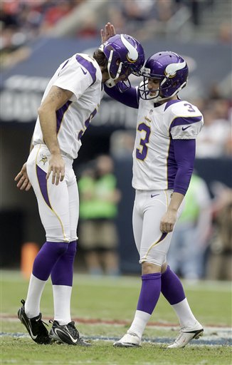 Blair Walsh, Chris Kluwe