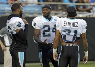 James Bradberry, Zack Sanchez, Daryl Worley