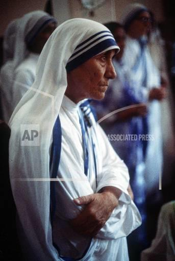 Associated Press International News India MOTHER TERESA