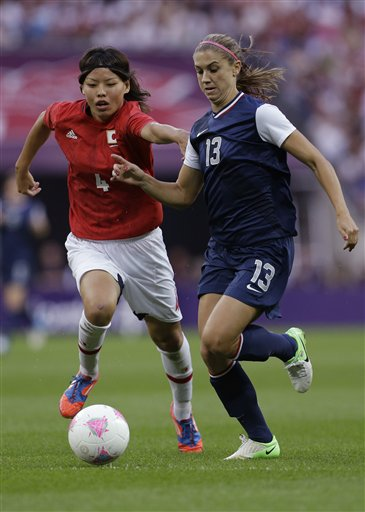 Saki Kumagai, Alex Morgan