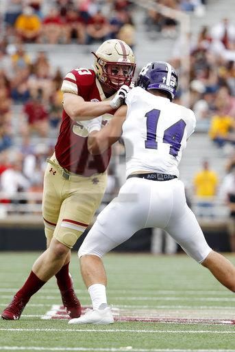COLLEGE FOOTBALL: SEP 08 Holy Cross at Boston College