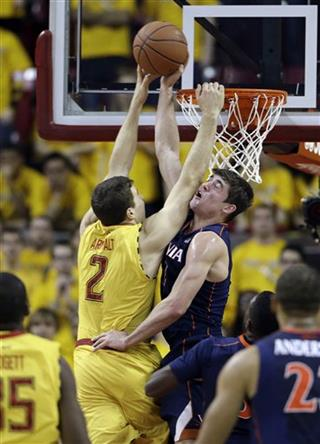 Joe Harris, Logan Aronhalt