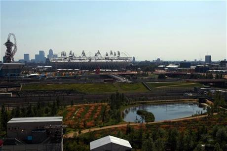 Olympic Village Arrivals