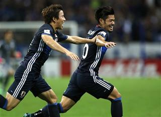 Japan Soccer World Cup Qualifier