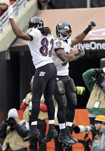 Bernard Pierce, Torrey Smith