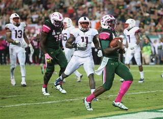 UConn South Florida Football