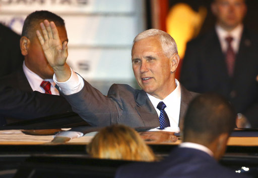 VP Pence aims to reassure Australia after tense Trump call