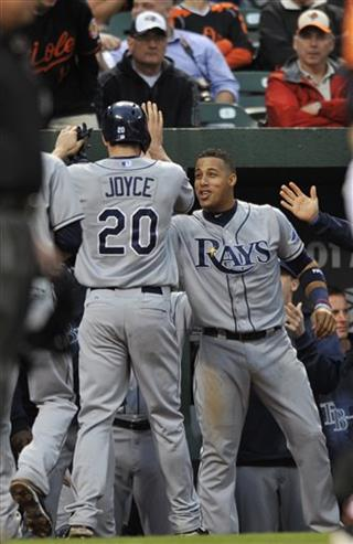 Matt Joyce, Yunel Escobar