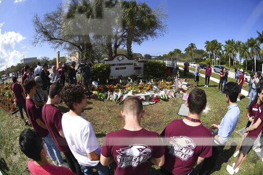 Marjory Stoneman Douglas HS Students And Parents Commemorate One Year Anniversary Of Shooting