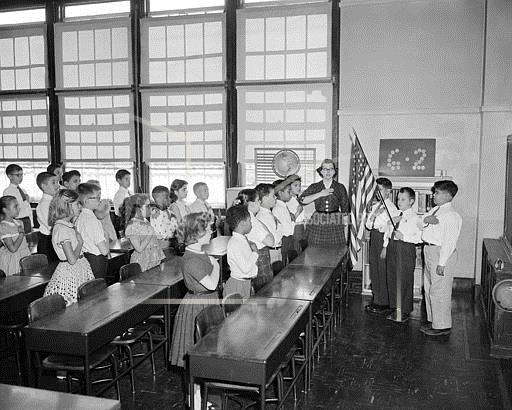 Watchf Associated Press Domestic News  New York United States APHS56777 Pledge of Allegiance