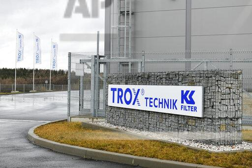 Company Trox KS Filter, conditioning filters, production