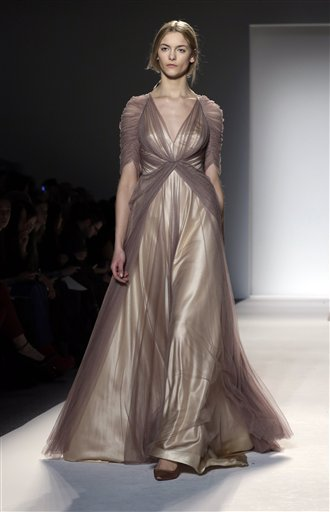 Fashion Jenny Packham Fall 2013