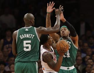 Kevin Garnett, Iman Shumpert, Paul Pierce