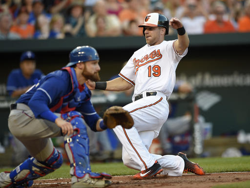 LEADING OFF: O's try to sweep Texas; Tigers seek 9th in row