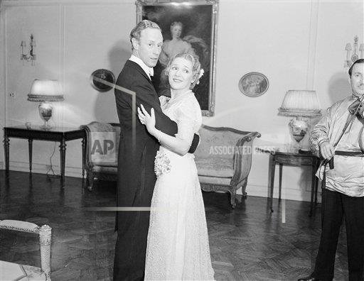 Watchf AP A  CA USA APHS370156 Mary Pickford Dancing Leslie Howard