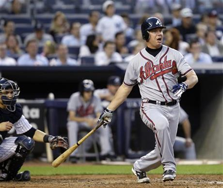 Russell Martin, Chipper Jones