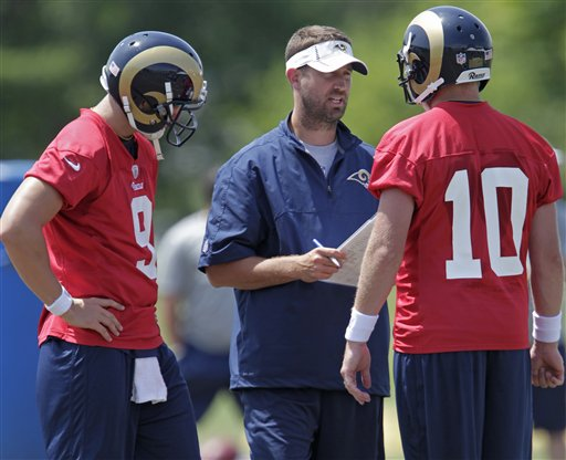 Brian Schottenheimer, Kellen Clemens, Austin Davis
