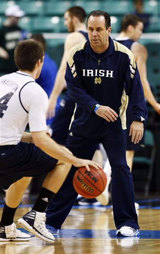Mike Brey, Pat Connaughton