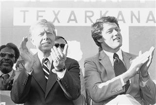 Jimmy Carter Campaigning Texarkana 1980