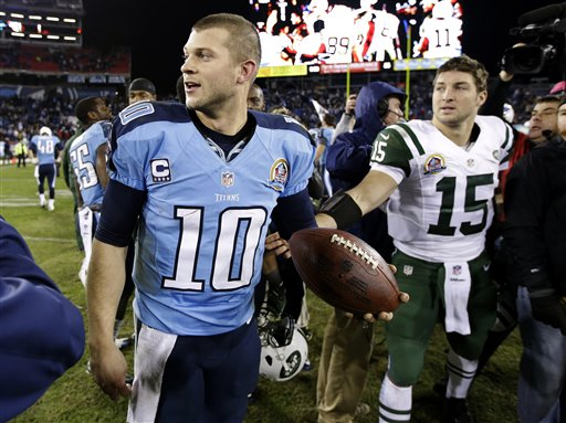 Jake Locker, Tim Tebow